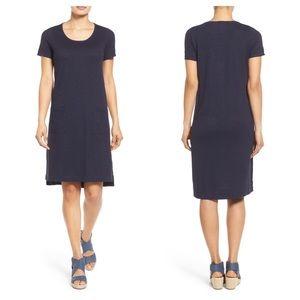 Eileen Fisher Hemp & Organic Cotton Shift Dress